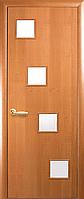 Двері міжкімнатні Новий Стиль, КВАДРА, модель Ронда, зі склом сатин