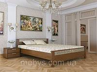 Ліжко  з натурального дерева Афіна