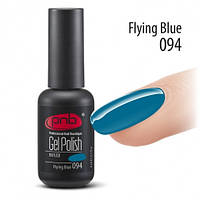 Гель лак PNB №094 (синий, эмаль) 8 мл., фото 1
