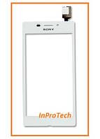 Сенсор (тачскрин) Sony D2403 Xperia M2 Agua White Original