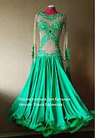 Платье стандарт - зеленое