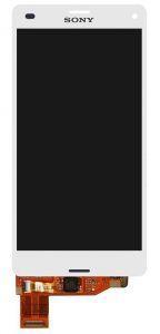 Диcплей c тачcкрином Sony D5803 Xperia Z3 Compact D5833 белый