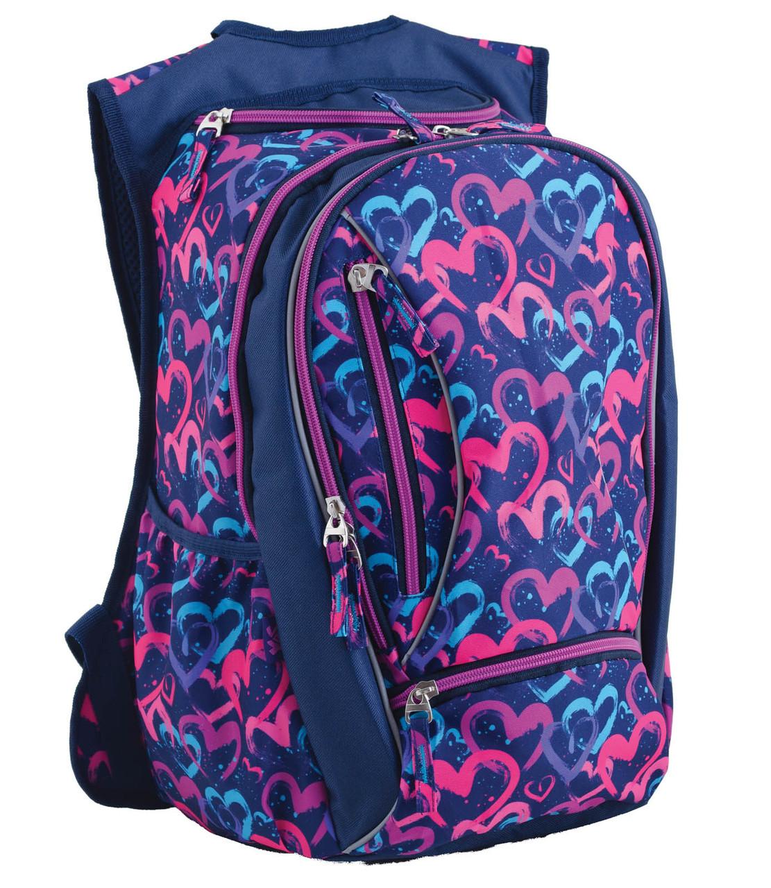 553156 Подростковый рюкзак YES T-28 Love 40*25,5*20