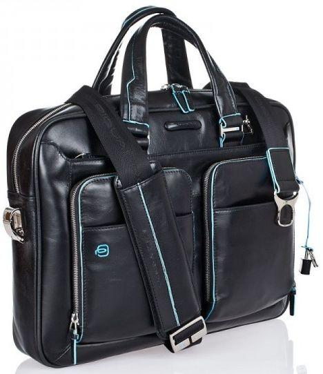 Солидный кожаный мужской портфель Piquadro CA2849B2_N