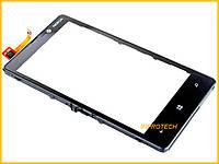 Сенсор (тачскрин) Nokia Lumia 820 с рамкой Original