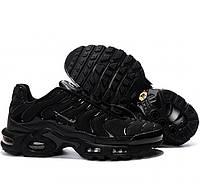 Подростковые кроссовки Nike Air Max Tn Plus All Black