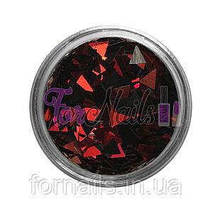 Треугольники - 04 красный, черный