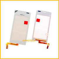 Сенсор (тачскрин) Nokia 603 White Original