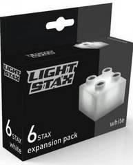 Конструктор LIGHT STAX Junior с LED подсветкой Expansion Белый M04001 Light Stax LS-M04001
