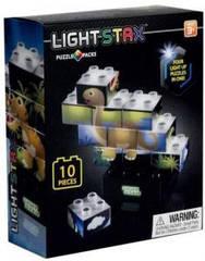 Конструктор Light Stax Junior с Led подсветкой Puzzle Dinosaurer Edition M03004 Light Stax LS-M03004