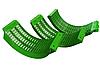 Комплект зерновых подбарабаньев John Deere (AH205254,AH210894)