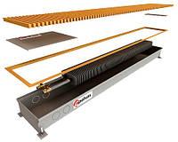 Водяные конвекторы внутрипольные с одним теплообменником POLVAX КЕ 1250х230х78*