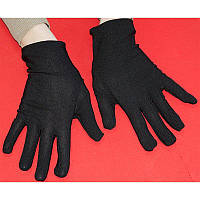 Перчатки Фокусник короткие (черные) 140416-063