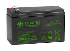 Аккумуляторная батарея B.B. Battery BC 7-12 (12V, 7 Ah)