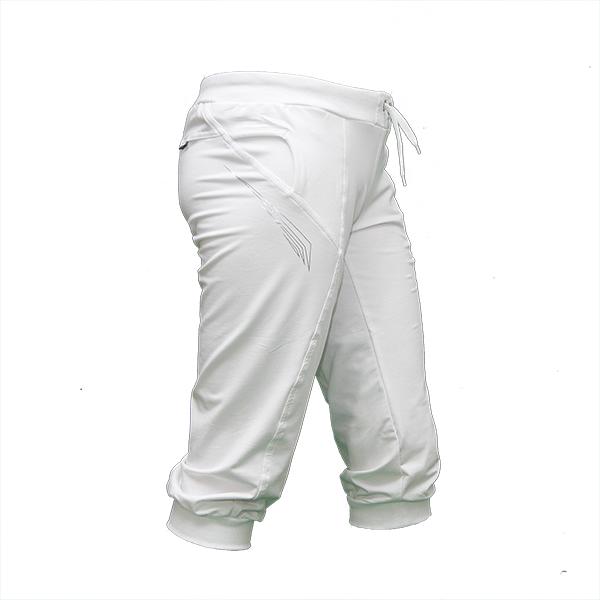 Женские белые бриджи трикотаж отличное качество BZ11374-4 оптом и в ... c6b069e34529f