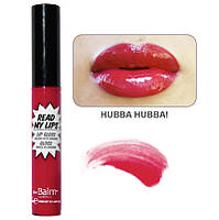 блеск Read My Lips theBalm оттенок  HUBBA HUBBA!