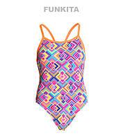 Сдельный купальник для девочек Funkita Square Bare FS16