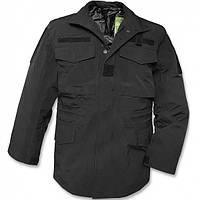 Куртка из мембраной ткани М65 черная