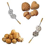Формы для выпечки печенья вафель орешков грибочков ассорти
