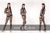 Женский леопардовый костюм НОРМА размер С