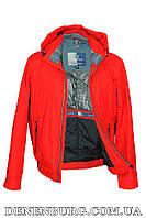 Куртка мужская демисезонная BLACK VINYL 17-810-1 красная, фото 1