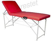 Trio Lux Массажный стол-кушетка складной  Красный