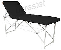 Trio Lux Массажный стол-кушетка складной  Черный