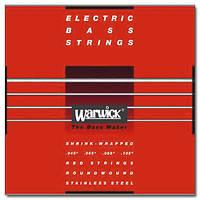 Струны WARWICK 42200 RED LABEL M4 (45-105)