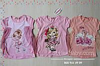 Стильная футболка туника для девочки Шлейф размер 2,3,4 лет