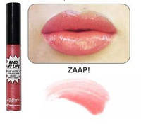 блеск Read My Lips theBalm оттенок  ZAAP!