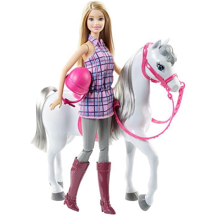 Лялька Барбі прогулянка верхи / Barbie Doll and Horse