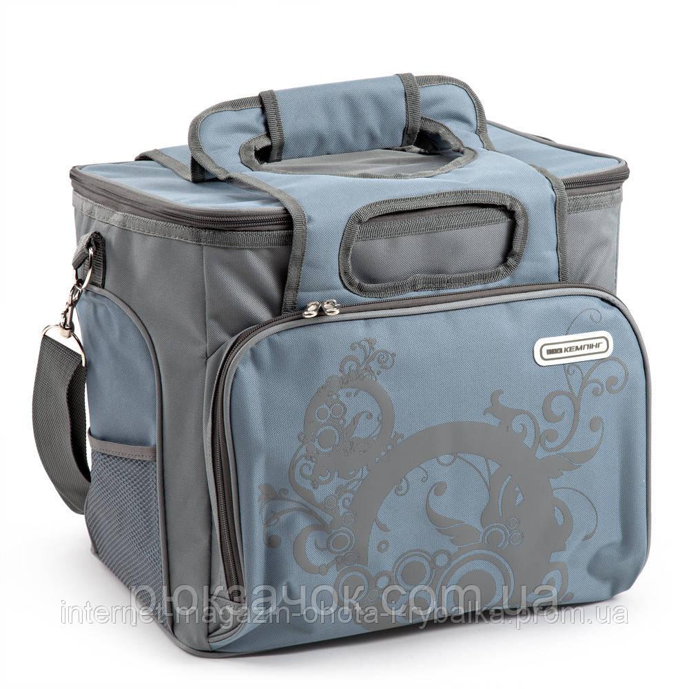 Изотермическая сумка 25 литров, Термо сумка КЕМПИНГ Urban 25