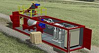 Контейнерная установка по производству мясо-костной муки