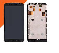 LCD Motorola Moto X Play (XT1562) + touch + frame Black