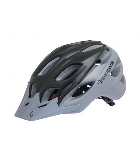 Шлем Green Cycle Enduro (черно-серый)