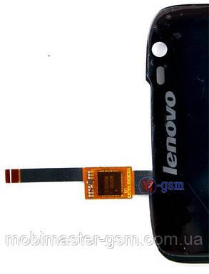 LCD модуль Lenovo S820 черный, фото 2