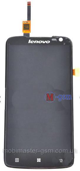 LCD модуль Lenovo S820 черный