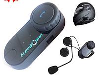 Bluetooth гарнитура на мото шлем