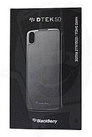 Чехол BlackBerry DTEK50 Hard Shell пластиковый черный