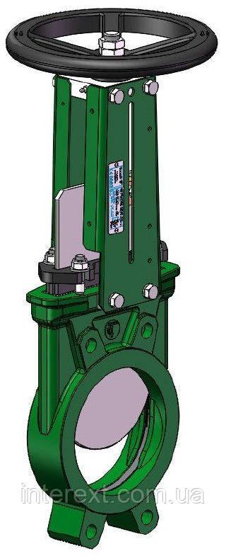 Задвижка ножевая (шиберная) Tecofi Ду80 VG3400-001NI