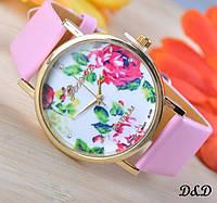 """Часы женские """"Лето"""" розовые"""