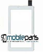 """Оригинальный Сенсор (Тачскрин) для планшета 7"""" iSonic M754 (185*104мм, 30pin) (Белый-Самоклейка)"""