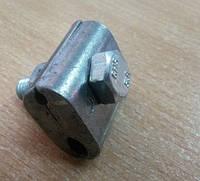 Зажим плашка для СИП одинарный(алюминиевый)6-35кв
