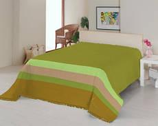Плед Le Vele Royal Stripes green 160х220