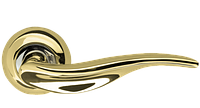 Ручка дверная на розетке Armadillo Lora золото (Китай)