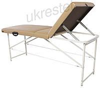 Trio Standart Массажный стол-кушетка техсекционный складной  Бежевый