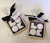 Печенье с лого