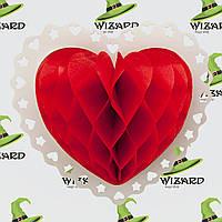 Декор 3D Сердце  Большой