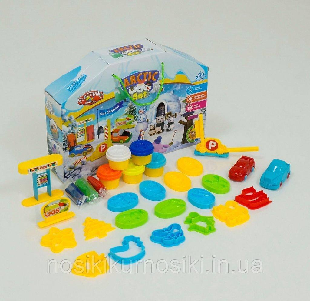Набор для лепки (пластилин) Plasticine magical Автозаправка