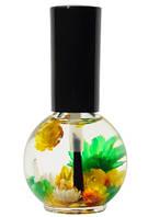 """Цветочное масло для кутикулы Naomi """"Лимон"""", 15 мл."""